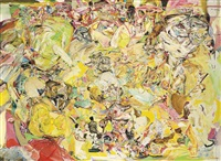 untitled (yellow) by cecily brown