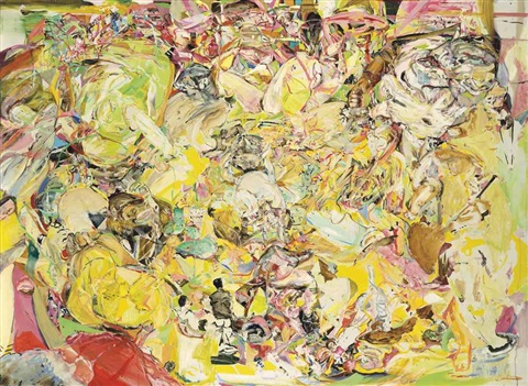 untitled yellow by cecily brown
