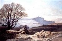chasseur au repos sur les plateaux de haute-provence by antoine eugène ernest buttura
