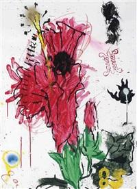 hibiscus (new year's greeting) by erik bart andriessen