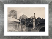 pont neuf in paris by odo (otton) dobrowolski