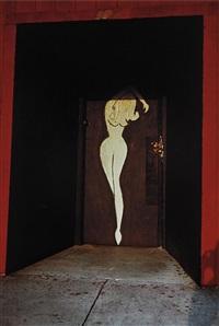 untitled (red doorway) by william eggleston
