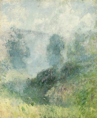 rising mists by guy rose