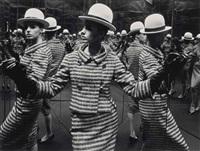 antonia and mirrors, paris, 1963 by william klein