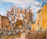 square des batignolles by charles-joseph apy-vives