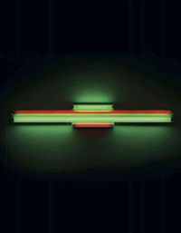 red and green alternatives (to sonja) by dan flavin