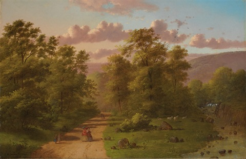 along the path by johann mongels culverhouse