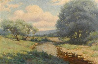 river through the glen by john willard raught