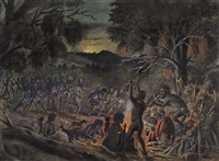 nocturnal corroboree by richard shaw