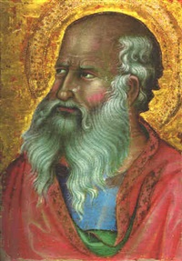 saint john the evangelist by bartolo di messer fredi