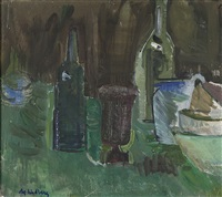 flaskor, mortel och skålar by alf lindberg