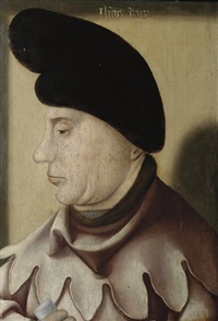 portrait of john the fearless, duke of burgundy by dutch school-southern (16)