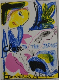 close to the bone (portfolio of 24) by davida allen