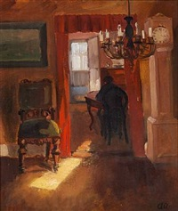 sunlit interior. skagen by anna kirstine ancher
