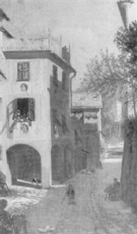 old palace, portofino by sigismund christian hubert goetze