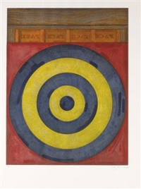 target with four faces by jasper johns
