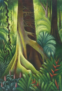 tropical forest by miguel covarrubias
