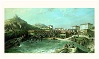 vue du vieux port à biarritz by jean jacques alban de lesgallery