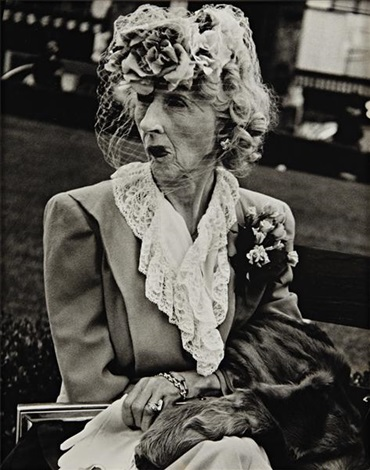 woman with veil san fransisco by lisette model