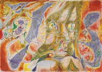 le peintre et la chrysalide by andré masson