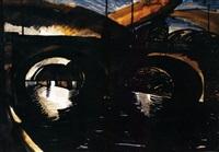 híd a szajnán (bridge on the seine ) by józsef nemes-lampérth
