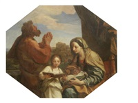 the education of the virgin by carlo maratta