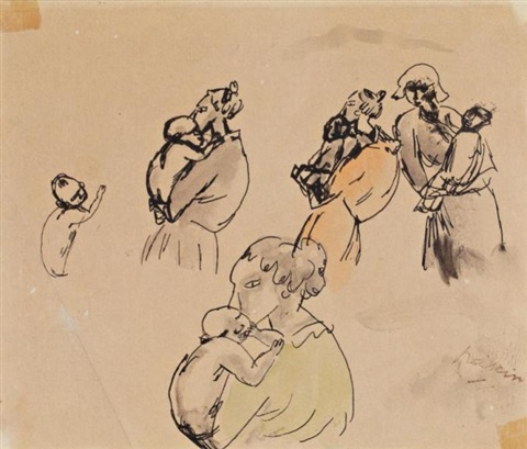 maternité by jules pascin