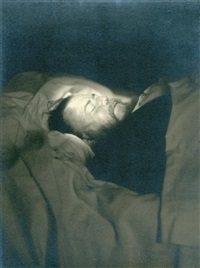 christian bérard, portrait post-mortem by raymond voinquel