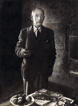 portrait de pierre bonnard by rogi andré