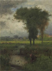 summer, montclair by george inness