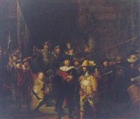 the night watch by johannes van der linde