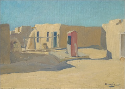 the red cistern taos by walter ufer