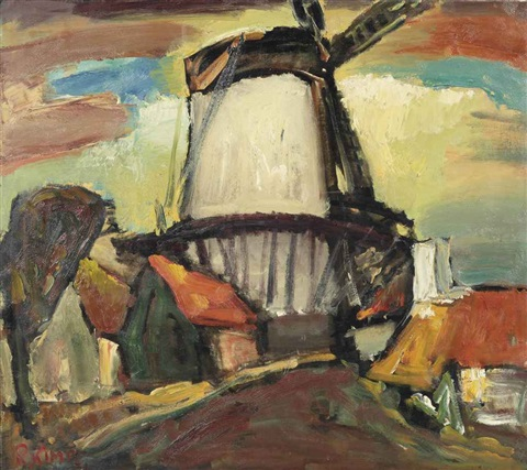 windmill de hoop middelburg by reimond kimpe