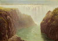 the boiling pot, victoria falls by edward henry holder