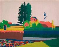 pond in pyry by jerzy ryszard zieliñski