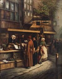 la marchande de livres by josef hendrik hubert lies