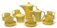 kaffeeservice (set of 9) by gmundner keramik