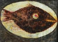 zátiší s rybou by ota janecek