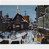 quebec city by john geoffrey caruthers little