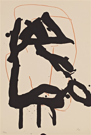 untitled from beau geste pour lucrece by robert motherwell