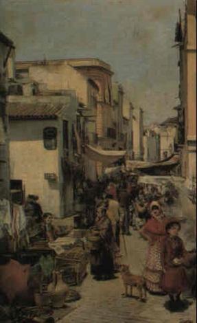 a market seville by enrique cabral y llano