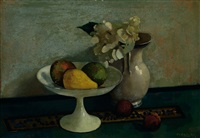 still life with fruit by otto b. de kat