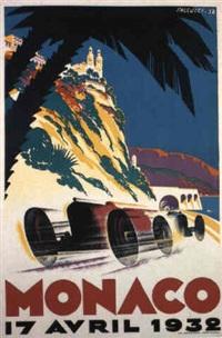 monaco grand prix 1932 by posters: sports - monaco grand prix