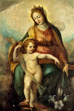 madonna con bambino by fabrizio santafede