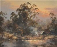 wingacarribee dusk, nsw by ramon ward-thompson