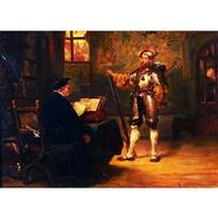 the messenger by robert alexander hillingford