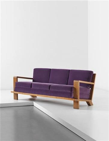croisillon sofa by jean royère