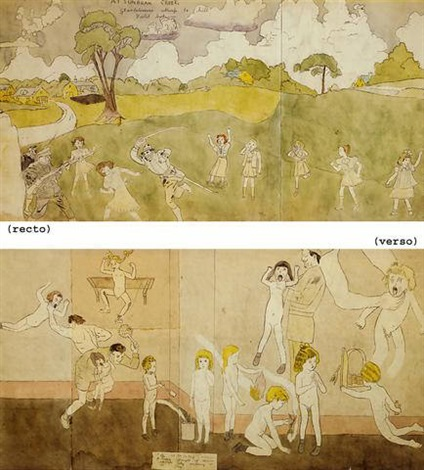 at sunbeam creekat wickey sansia by henry darger