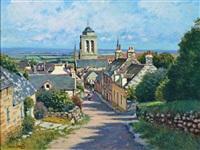 rue à locronan by maurice bismuth lemaître