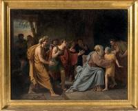 Jacob refusant de livrer Benjamin, 1797–1863